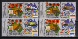 Yugoslavia,SOG-Sydney '00 2000.,stamp-vignette,MNH - Ongebruikt