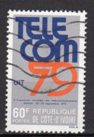 Cote-d'Ivoire Yvert N°509 Oblitéré Lot 3-782 - Côte D'Ivoire (1960-...)