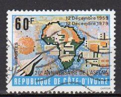 Cote-d'Ivoire Yvert N°534 Oblitéré Lot 3-785 - Côte D'Ivoire (1960-...)