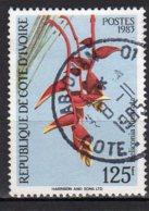 Cote-d'Ivoire Yvert N°675A Oblitéré Fleurs Lot 3-799 - Côte D'Ivoire (1960-...)
