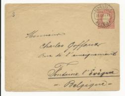 Stationery Cover Portugal 1892 Avenida Lisboa - Lettres & Documents