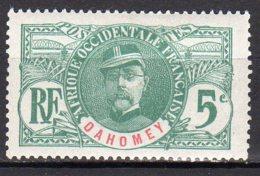 Dahomey Yvert N°21 Neuf Avec Charnière Général Faidherbe Lot 3-843 - Dahomey (1899-1944)