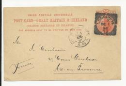 Postal Stationery Great Britain 1896 London - Luftpost & Aerogramme