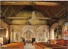 CPM - édit. CIM - HACQUEVILLE (Eure) - Intérieur De L'Eglise - Le Choeur - Les 2 Autels De Côté - France