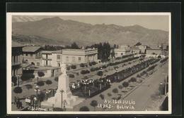 AK La Paz, Avenida 16 De Julio - Bolivien