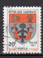 Gabon Yvert N° 266 Oblitéré Armoirie Mouila Lot 4-71 - Gabon (1960-...)