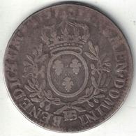 France Louis XV Ecu 1737BB - 1715-1774 Louis XV Le Bien-Aimé