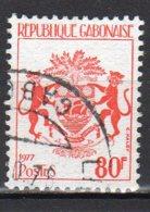 Gabon Yvert N° 379 Oblitéré Armoirie Gabon Lot 4-88 - Gabon (1960-...)