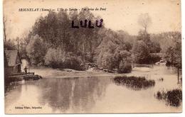 DEPT 89 : édit. Vilain : Seignelay L Ile De Serein Vue Prise Du Pont - Seignelay