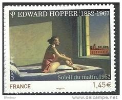 "FR Adhesif YT 661A (4633) "" Edward Hopper "" 2012 Neuf** - Sellos Autoadhesivos"