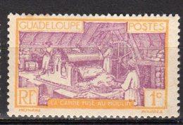 Gaudeloupe Yvert N° 99 Neuf Avec Charnière Point De Rouille Travail De La Canne à Sucre Lot 4-183 - Nuovi