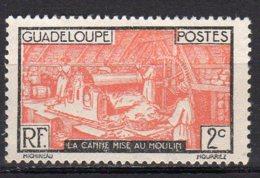 Gaudeloupe Yvert N° 100 Neuf Avec Charnière Travail De La Canne à Sucre Lot 4-184 - Nuovi