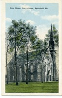 SPRINGFIELD - Stone Chapel, Drury Collège - Springfield – Missouri