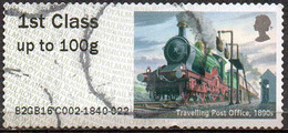 GREAT BRITAIN 2016 Post & Go: Royal Mail Heritage. Transport. Travelling Post Office, 1890s - Post & Go Stamps