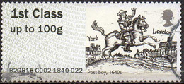 GREAT BRITAIN 2016 Post & Go: Royal Mail Heritage. Transport. Post Boy, 1640s - Great Britain