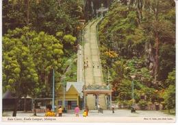 °°° 13467 - MALAYSIA - BATU CAVES , KUALA LUMPAR - 1980 With Stamps °°° - Malesia