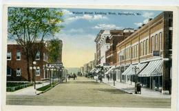 SPRINGFIELD - Looking East On Walnut Street - Springfield – Missouri