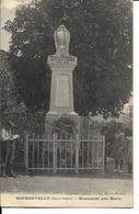 70 - Bourbévelle - Monument Aux Morts - Frankreich
