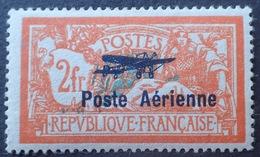 DF40266/389 - 1927 - POSTE AERIENNE - N°1 NEUF* - Cote : 250,00 € - 1927-1959 Mint/hinged