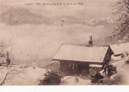 Leysin (Suisse) - Mer De Brouillard Et La Dent Du Midi - VD Vaud