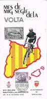 33607. Triptico 6 Paginas BARCELONA 1978. Salon Nautico, Volta Ciclista Catalunya, Ciclismo - 1931-Today: 2nd Rep - ... Juan Carlos I