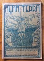 RECANATI 1923 ALMA TERRA Con PUBBLICITA' DI JESI MACERATA RECANATI  ASCOLI OSIMO ANCONA PORTOCIVITANOVA  MONTEFANO ,ECC. - Marcapáginas