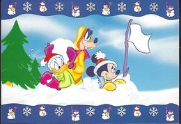 "DISNEYWORLD     -  Collection "" Mickey For Kids Winter ""     2 Scans - Disneyland"