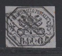 Etats Pontificaux 1852 Yvert 7a (o) B Oblitere(s) - Etats Pontificaux