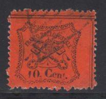 Etats Pontificaux 1868 Yvert 22 (o) B Oblitere(s) - Kerkelijke Staten