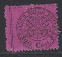 Etats Pontificaux 1868 Yvert 23 ** TB - Kerkelijke Staten