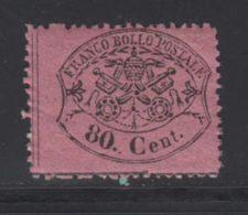 Etats Pontificaux 1868 Yvert 25 ** TB - Kerkelijke Staten
