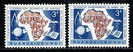 Ruanda Urundi 1960 OBP/COB 217/18**, MNH - 1948-61: Neufs