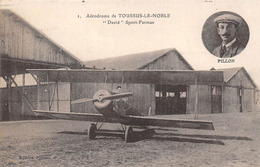 78-TOUSSUS-LE-NOBLE- AERODROME, DAVID, SPORT FARMAN - Toussus Le Noble