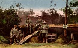 VON DER VILLA HINDENBURG  1914/16 - Guerre 1914-18