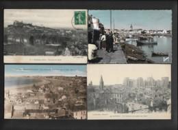 FRANCE - LOT DE 1100 CARTES POSTALES ANCIENNES ET SEMI-MODERNES FORMAT  9X14 DIVERSES - TYPE DROUILLE - 500 Postcards Min.