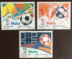 Malta 1990 World Cup MNH - Malta