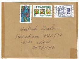 Brief FRANKREICH Mit 3 Fach Frankierung - Frankreich