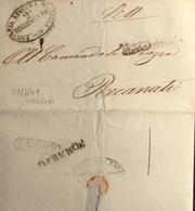 1849  ASCOLI      R.R. - ...-1850 Préphilatélie