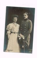 Militaire Allemand Et Dame.Studio Feilner& Mohaupt,Oldenburg - War, Military
