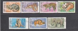 Vietnam 1984 - Animals, Imperforated, Canceled - Vietnam