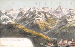 Saas Fee (Suisse) - Vallées De Zermatt - VS Valais