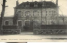 Saint -Malo--Ecole De Rocabey Cours De Vacances De L 'Université De Rennes - Saint Malo