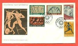 OLIMPIADI - MARCOFILIA - GIOCHI OLIMPICI TOKYO  1972 - - FDC