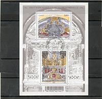 FRANCE   Feuillet 2 Timbres 0,89 € Et 1,45 €    2012   Y&T: F4708  Orgue De Saint-Jacques De Lunéville      Oblitéré - Sheetlets