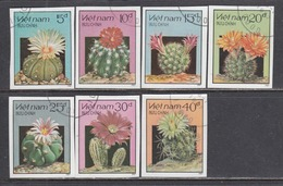 Vietnam 1987 - Cactus, Imperforated, Canceled - Vietnam