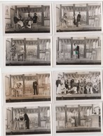 Lot 8 Photos Theatre Stalag  Marius - Guerre, Militaire