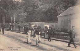 78-SAINT-GERMAIN-EN-LAYE-- MARCHE DE L'ARMEE 1904 PASSAGE DES MARCHEURS - St. Germain En Laye