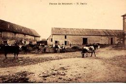 27 - BELLE CPA DOUAINS BRECOURT - FERME DE Mr BOUTIN - ADHERENTE A LA SCVC - VOIR PHOTO ET NOTICE - ETAT EXC - - Andere Gemeenten