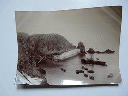 PHOTOGRAPHIE ANCIENNE - Iles Anglo-normandes : SERCQ - Le Port - Lieux