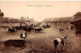 27 - BELLE CPA DOUAINS BRECOURT - FERME DE Mr QUEROLLE - ADHERENTE A LA SCVC - VOIR PHOTO ET NOTICE - ETAT EXC - - Autres Communes